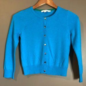 3 for $20! Biden blue 100% cashmere cardigan
